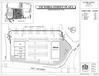 Victoria Street Plaza plan