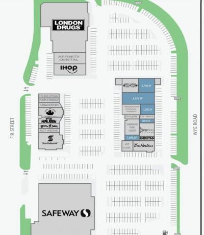 Village Market / Sherwood Centre / Sherwood Towne Square plan