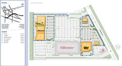 Walker Square Shopping Centre plan