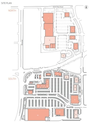 West Point Centre plan