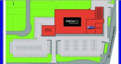 WestBram Plaza plan