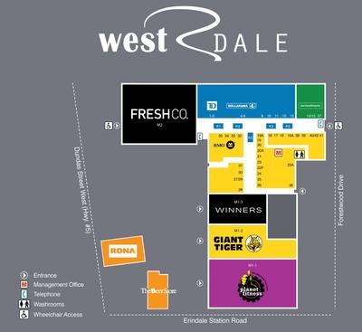 Westdale Mall plan