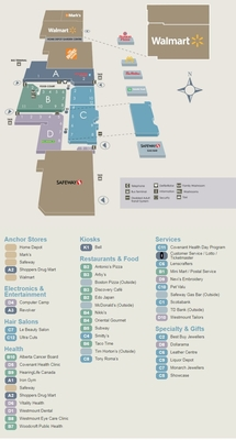 Westmount Centre plan
