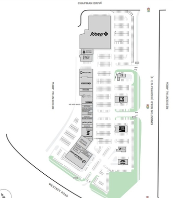 Westney Heights Plaza plan