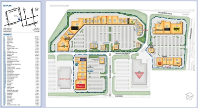 Westridge Power Centre plan