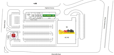 Wharncliffe Centre plan