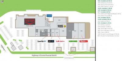 Wheatland Mall plan