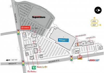 Whitby North SmartCentre plan