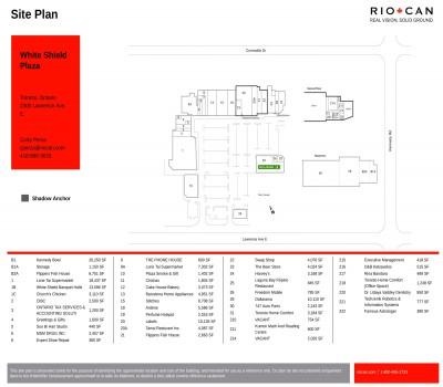 White Shield Plaza plan