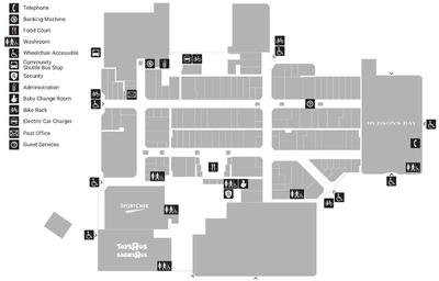 Willowbrook Shopping Centre plan