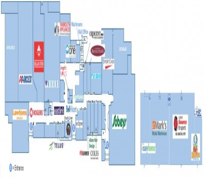 Yarmouth Mall plan