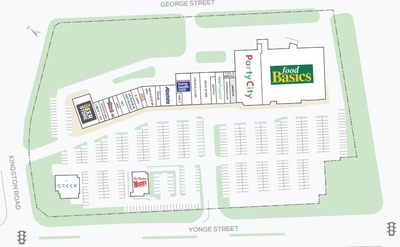 Yonge Kingston Centre plan