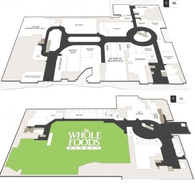 Yorkville Village (Hazelton Lanes) plan