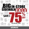 Coupon for: Stokes - save up to 75%