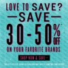 Coupon for: Journeys, Richmond Centre, Love to save?