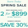 Coupon for: Brooks Brothers, Spring Sale is here