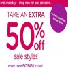 Coupon for: Selected styles with an extra discount at Crocs Canada
