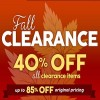 Coupon for: Fall Clearance Sale from Lids Canada