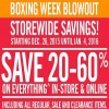 Coupon for: Boxing week blowout at Mark's Canada