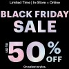 Coupon for: Black Friday Sale is on at Ardene Canada stores and online