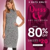 Coupon for: Save money during this weekend at Le Chateau Canada