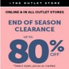 Coupon for: Enjoy End of Season Sale from Le Chateau Canada Outlet