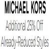 Coupon for: Additional Savings at Michael Kors Canada