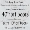 Coupon for: Shop Naturalizer Canada Holiday Style Event