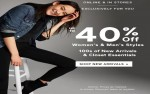 Coupon for: Gap Canada Sale: Women's & Men's styles up to 40% off