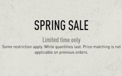 Coupon for: Reebok Canada Spring Sale is on during these days