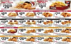 Coupon for: KFC at Alberta - special coupons