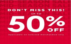Coupon for: La Vie en Rose at Kingsway - MID-SEASON SALE
