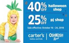 Coupon for: Carter's/Oshkosh at Quartier Dix 30 - Spooky Cute