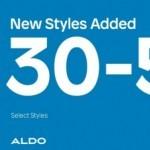 Coupon for: Aldo at Metropolis at Metrotown - 30 to 50% Off