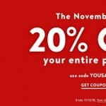 Coupon for: Famous Footwear in Canada - The November Sale