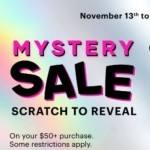 Coupon for: MYSTERY SALE  at Ardene,at Metropolis a Metrotown.