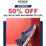 Coupon for: Crocs - Extended: 50% off
