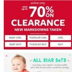 Coupon for: Carter's - CLEARANCE (up to 70% OFF!)