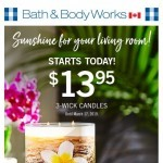 Coupon for: Bath & Body Works - Welcome home (sweet home)!