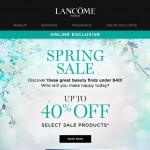 Coupon for: Lancôme Canada - Under $40 Beauty Goodies to Discover