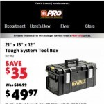 Coupon for: Home Hardware - Being a pro has its benefits.