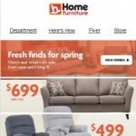 Coupon for: Home Furniture - Freshen up your home for spring