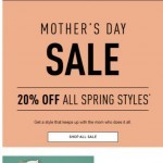 Coupon for: SOREL - 20% off top styles—Mother's Day Sale.