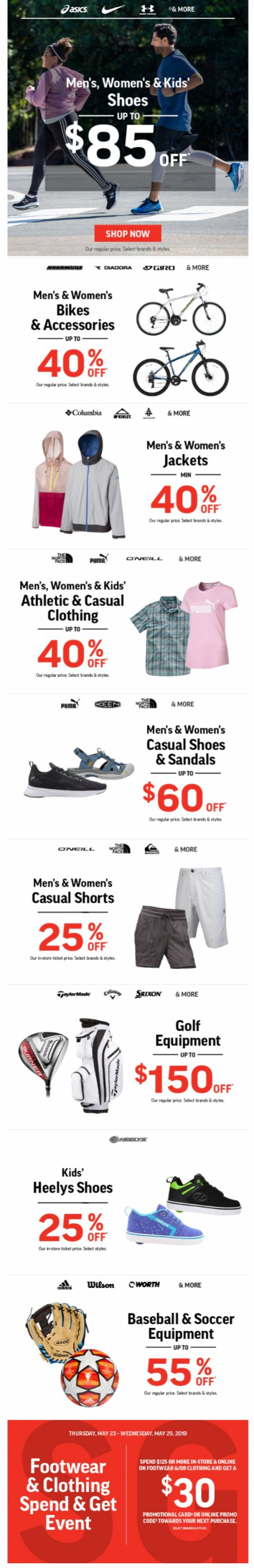e141336c29340 May 24, 2019 - Sport Chek - Get Ready For Summer ☀ Deals On Shoes ...