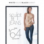Coupon for: White House Black Market - 5-Star Jeans ⭐ NOW $64
