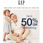 Coupon for: Gap - Today's officially your day for a summer surprise