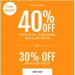 Coupon for: Torrid - Final hours to buy more and save more!
