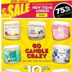 Coupon for: Bath & Body Works - first day of summer = time to haul $10.50 3-wicks + 20% off!