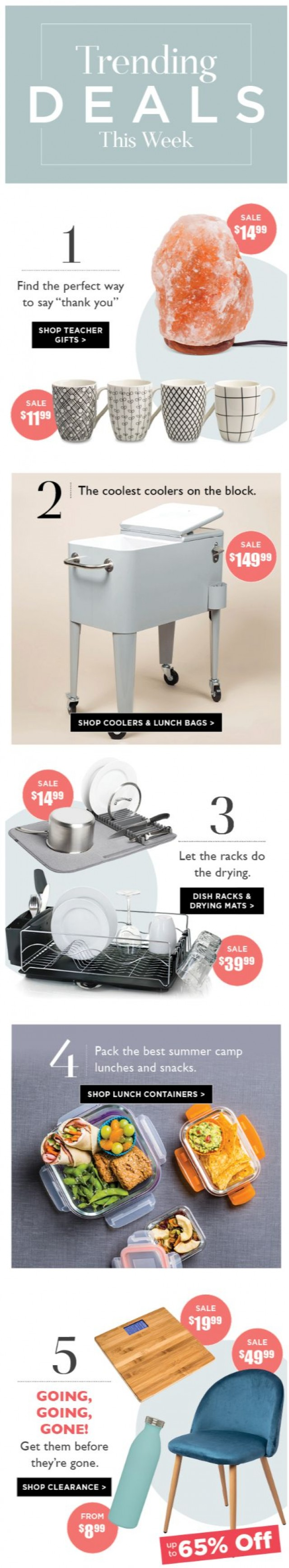 Coupon for: Kitchen stuff - This Week's Top 6