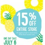 Coupon for: Nature's Fare Markets - Save 15% on July 6 at the White Rock One Day Sale
